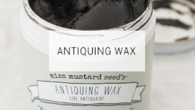 Antiquing Wax