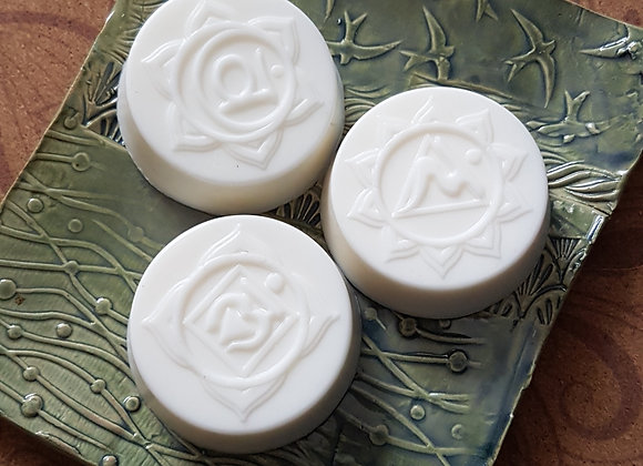 Chakra Soaps (3 for $10, 7 for $20)