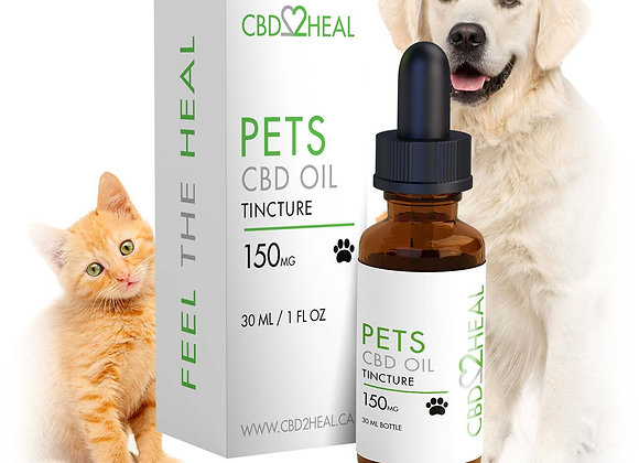 CBD Tincture for Pets: 150, 250 & 500mg
