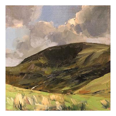 Newlands Pass, Dominic Parczuk, Artist, Painter, Lincolnshire, Landscape painting