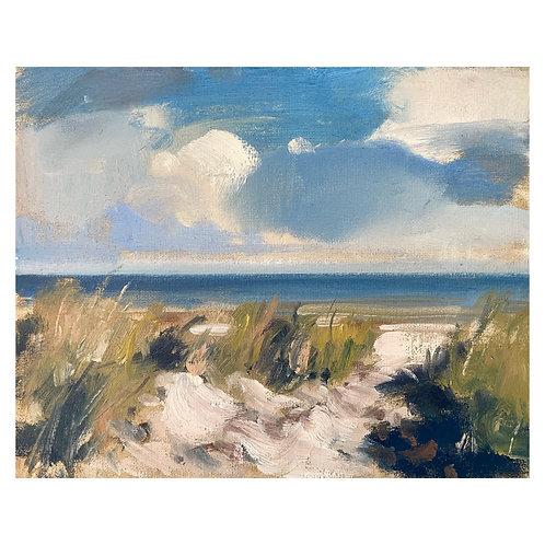 """Beach Grasses. 8x10"""""""