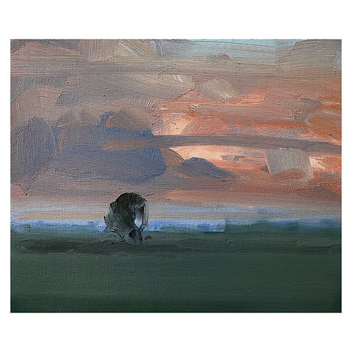 "Evening Mist. 12x10"""