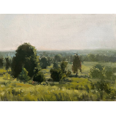 Afternoon Haze, Dominic Parczuk, Artist, Painter, Lincolnshire
