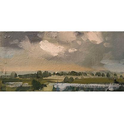 Changing Light, Dominic Parczuk, Artist, Painter, Lincolnshire