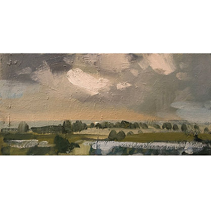 Changing Light, Dominic Parczuk, Artist, Painter, Lincolnshire