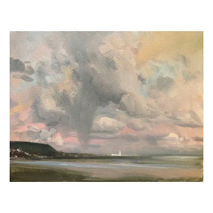Newlands Pass, Dominic Parczuk, Artist, Painter, Lincolnshire, Cloud paintings