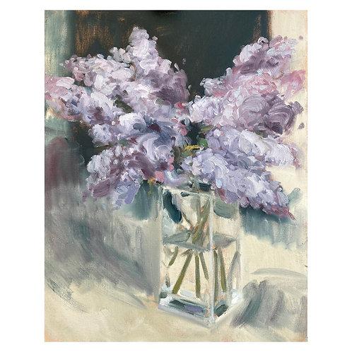 """Lilacs. 16x20"""""""
