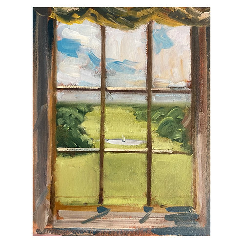 """Sledmere View. 8x10"""""""