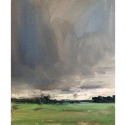 Fleeting Storm, Dominic Parczuk, Artist, Painter, Lincolnshire