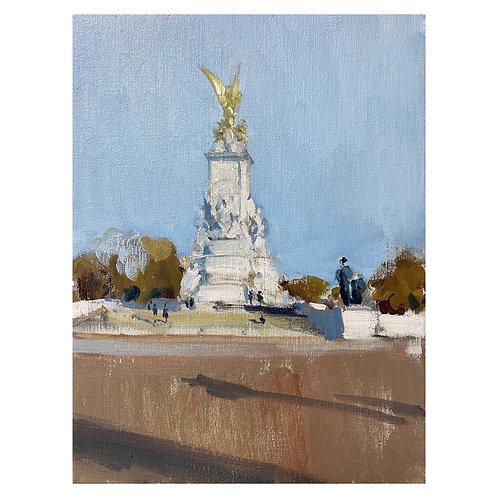 """Victoria Monument. 12x16"""""""