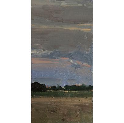 Dusk, Dominic Parczuk, Artist, Painter, Lincolnshire