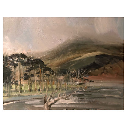 Buttermere, Dominic Parczuk, Artist, Painter, Lincolnshire, Cloud paintings