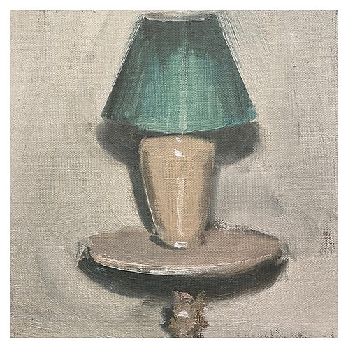 """Lamp and shadow . 8x8"""""""