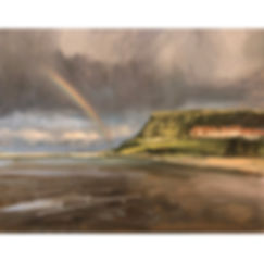 Whitby Rainbow, Dominic Parczuk, Artist, Painter, Lincolnshire