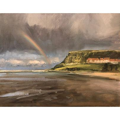 Whitby Rainbow, Dominic Parczuk, Artist, Painter, Lincolnshire