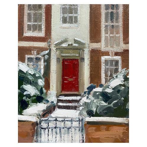 """Scarlet door. 8x10"""""""