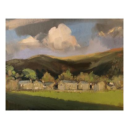 Grasmere, Dominic Parczuk, Artist, Painter, Lincolnshire, Cloud paintings