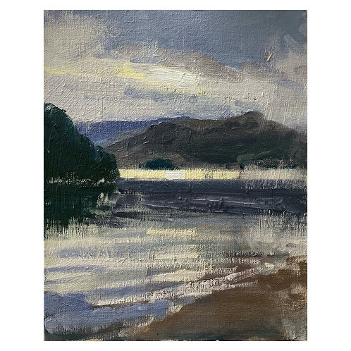 Derwent Evening. 8x10""