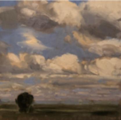 cloud landscape , Dominic Parczuk, Artist, Painter, Lincolnshire