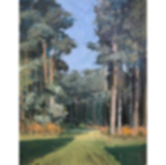Pines, Dominic Parczuk, Artist, Painter, Lincolnshire