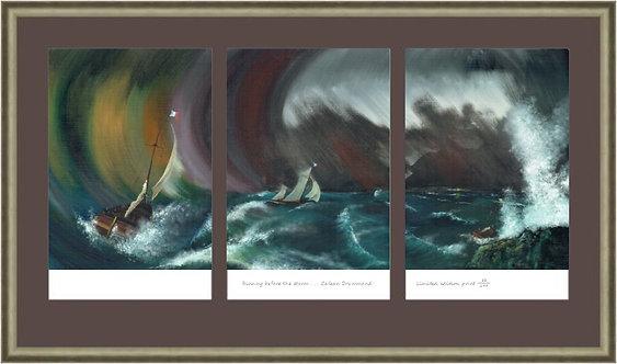 A4 Triptych
