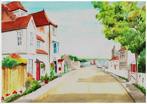 English fishing village