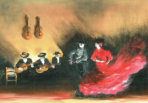 Hanging Guitars (After Singer Sargent)
