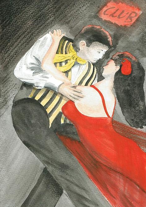 Yellow & Red Tango