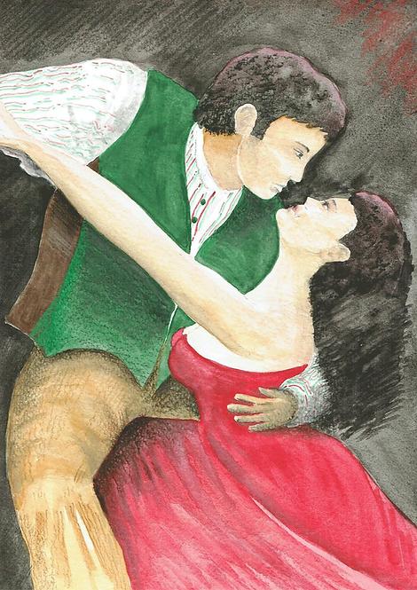 Green & Red Tango