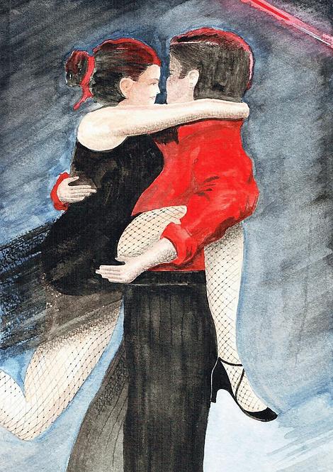 Red & Black Tango