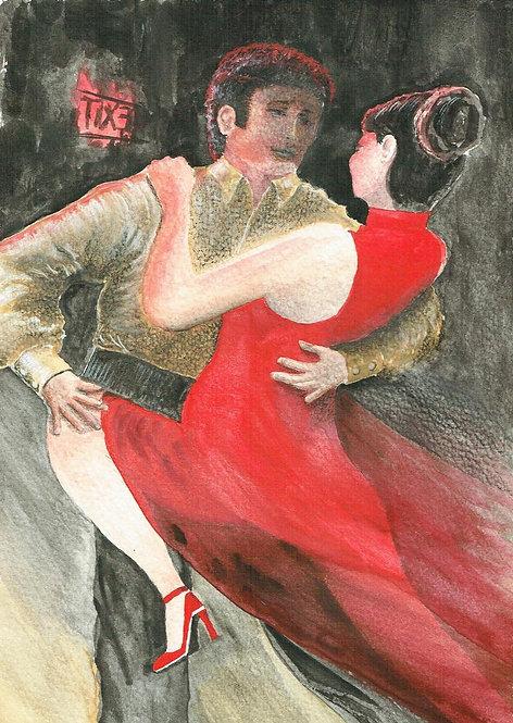 Red Dress Club Argentinian Tango