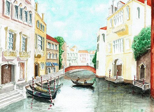 Backwater in Venice