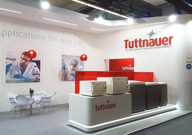 Tuttnauer ACHEMA 2018 Frankfurt