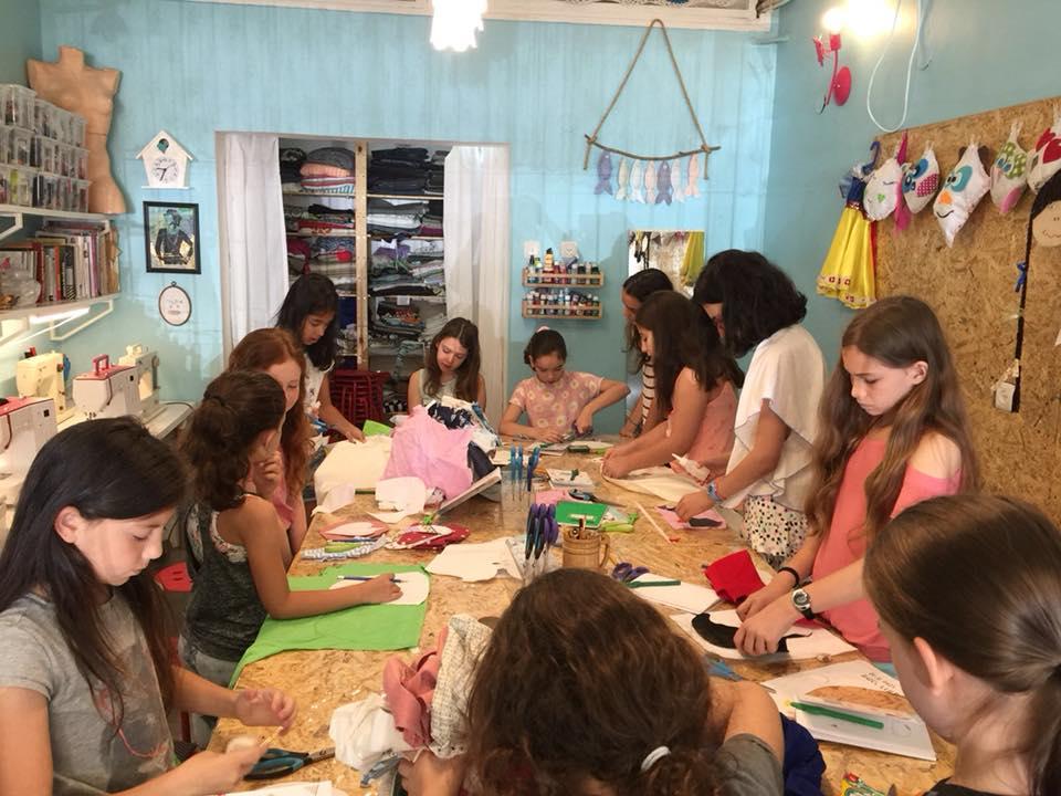 קייטנת אומנות בתל אביב