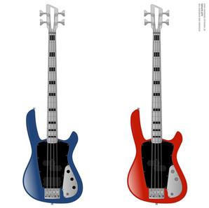 NT-434 Aluminum Neck-Through Bass