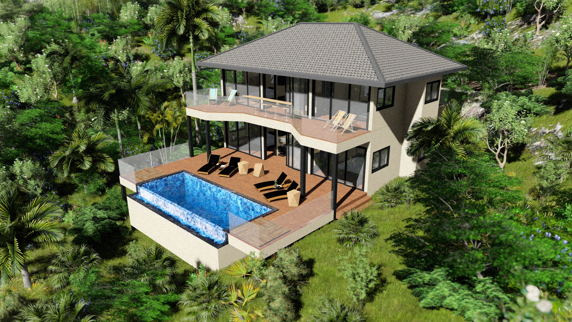 vacation house in thailand