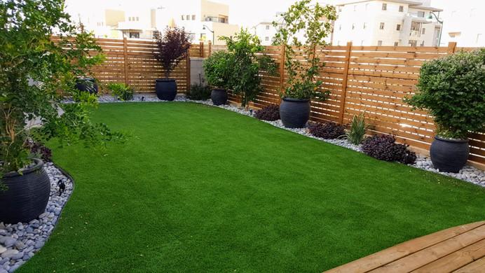 משטח דשא