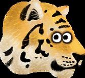 tiger from children app