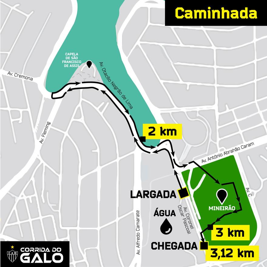 CAMINHADA DE 3KM