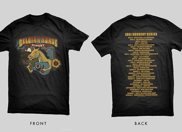Guitar Horse T-Shirt