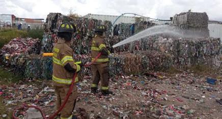 Boletin Notired 17Feb21 - Quema de material reciclado en Bogotá Obligó intervencion de bomberos