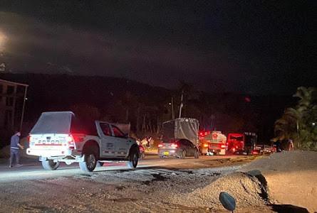 Boletin Notired 30oct20 - Paro camionero mantiene bloqueada la vía Panamericana en el Pacífico