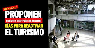 Boletin Notired 13Ago20 - Senador propone unir algunos festivos para reactivar el turismo