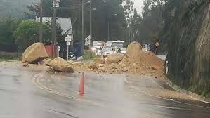 Boletin Notired 19Nov20 - Vía a La Calera seguirá cerrada; el clima no ayuda a levantar escombros