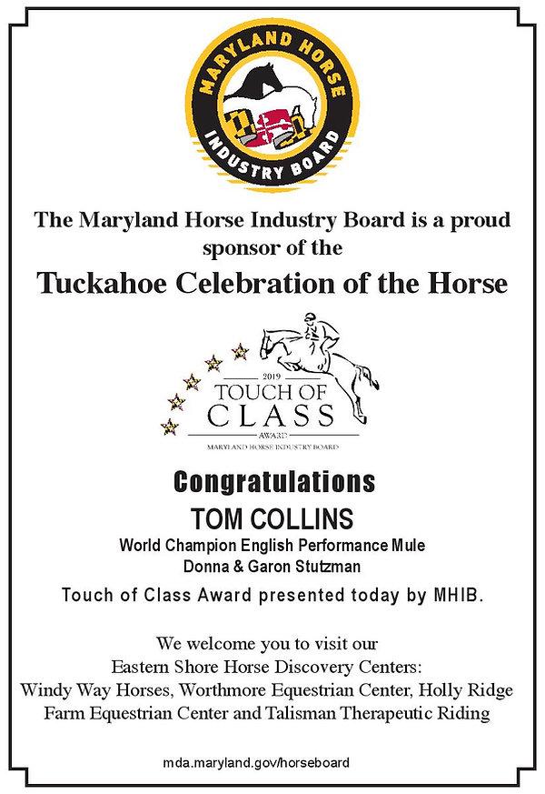 MHIB - Tuckahoe Celebration of the Horse