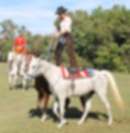 Roman Riding - Kirsten & John