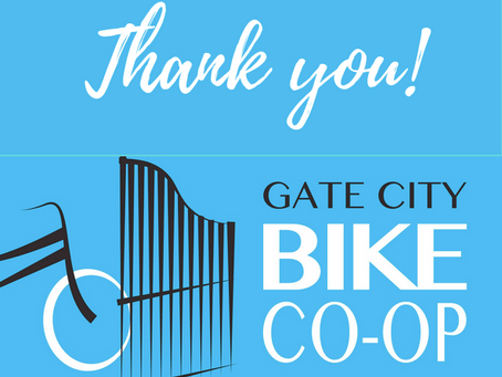 Youth Received Bikes from Gate City Bike Co-op