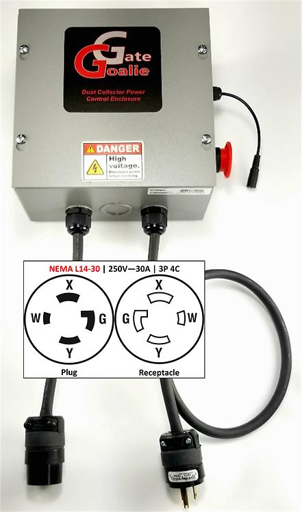 NEMA L14-30 | 250V - 30A | 3Pole 4Conductor | Twist Lock