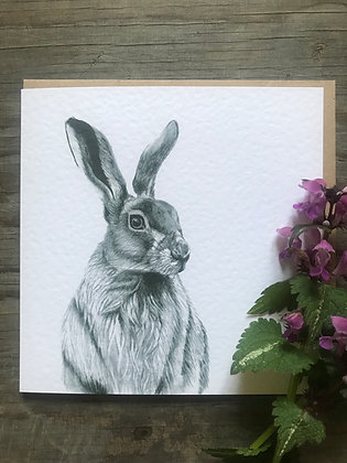 'March Hare' Card