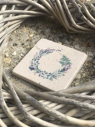 Wreath Coasters